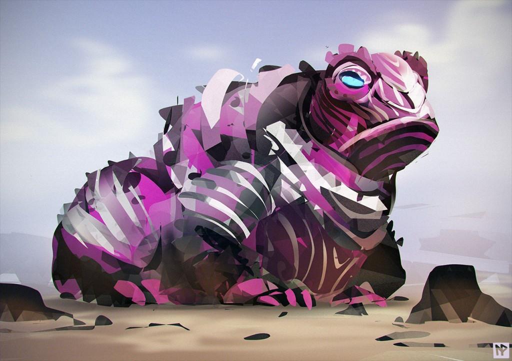 armoredwartoad